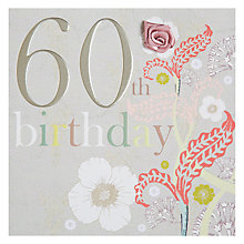 Buy Laura Darrington 60th Birthday Card Online at johnlewis.com