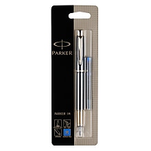 Buy Parker IM Gilt Fountain Pen, Black/Gold Online at johnlewis.com