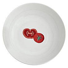 Buy John Lewis Italia Serving Bowl, Dia.28cm, White Online at johnlewis.com