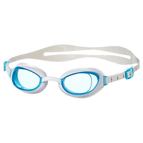 Buy Speedo Women's Aquapure Goggles, Blue/White Online at johnlewis.com