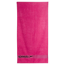 Buy Speedo Woven Border Towel Online at johnlewis.com