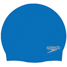 Buy Speedo Adult Moulded Silicone Cap Online at johnlewis.com