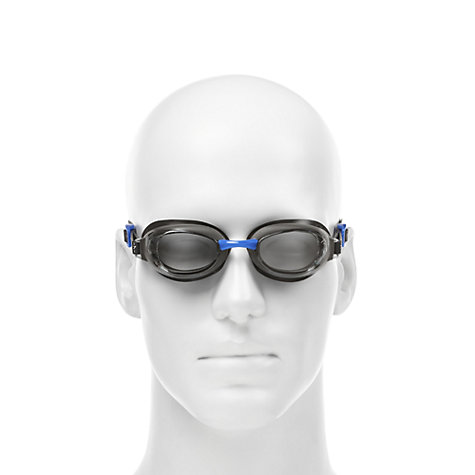 Buy Speedo Aquapure Swimming Goggles, Black/Blue Online at johnlewis.com