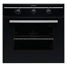 Buy Indesit FIM31KABK Single Electric Oven, Black Online at johnlewis.com
