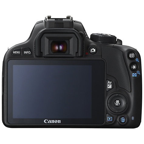 "Buy Canon EOS 100D Digital SLR Camera with 18-55mm Lens & 40mm STM Lens, HD 1080p, 18MP, 3"" LCD Touch Screen Online at johnlewis.com"