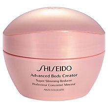 Buy Shiseido Advanced Body Corrector Super Slimming Reducer, 200ml Online at johnlewis.com