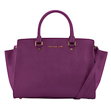 Buy MICHAEL Michael Kors Selma Travel Satchel Handbag Online at johnlewis.com