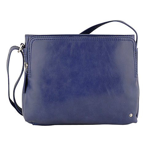 Buy Tula Originals Grace Leather Medium Cross Body Handbag Online at johnlewis.com