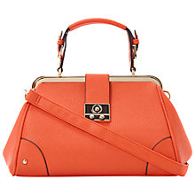 Buy Dune Docata Metal Frame Top Doctor's Handbag Online at johnlewis.com