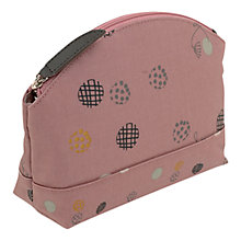 Buy Radley On The Dot Small Washbag, Dusky Pink Online at johnlewis.com