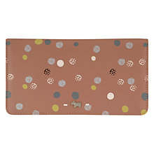 Buy Radley On The Dot Large Matinee Purse, Dusky Pink Online at johnlewis.com
