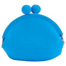 Buy One Button Block Colour Silicone Coin Purse Online at johnlewis.com