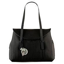 Buy Radley Sherwood Leather Large Flap Over Shoulder Handbag Online at johnlewis.com