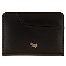 Buy Radley Pocket Bag Leather Card Holder, Black Online at johnlewis.com