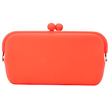 Buy One Button Large Block Colour Silicone Coin Purse Online at johnlewis.com