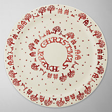 Buy Emma Bridgewater Christmas Town Cake Plate Online at johnlewis.com