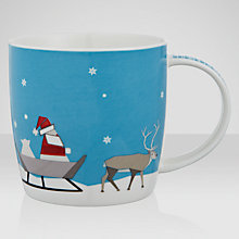 Buy John Lewis Santa Mug in a Tin Online at johnlewis.com