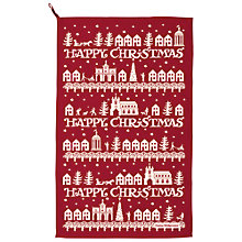 Buy Emma Bridgewater Christmas Town Tea Towel Online at johnlewis.com