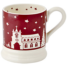 Buy Emma Bridgewater Christmas Town Half Pint Mug Online at johnlewis.com