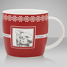 Buy John Lewis Rural Santa Mug Online at johnlewis.com