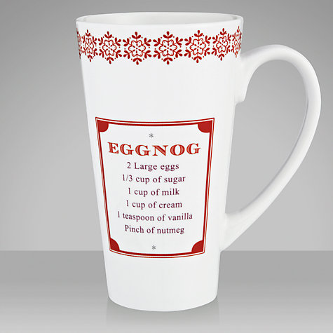 Buy John Lewis Rural Eggnog Mug Online at johnlewis.com
