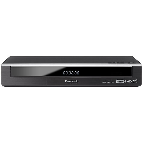 Buy Panasonic DMR-HWT130 Smart 500GB Freeview HD Twin Recorder Online at johnlewis.com