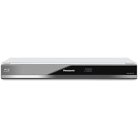 Buy Panasonic DMR-BWT735EB Smart 3D Blu-ray/DVD/HDD 1TB with Freeview HD Twin Recorder Online at johnlewis.com