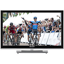 Buy Sharp LC24DV250K LED HD 720p TV/DVD Combi, 24 Inch with Built-in Freeview Online at johnlewis.com
