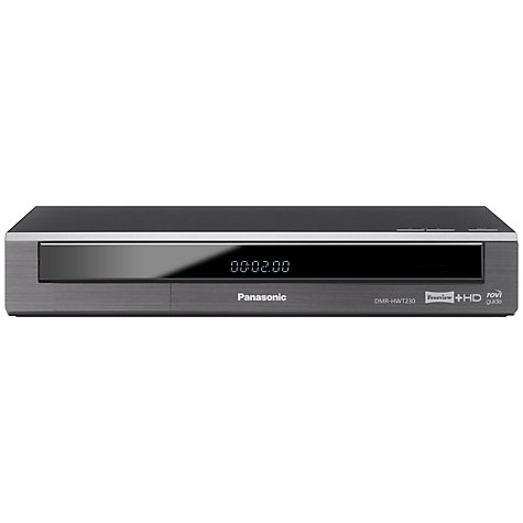 Buy Panasonic DMR-HWT230 Smart 1TB Freeview HD Twin Recorder Online at johnlewis.com