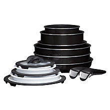 Buy Tefal Ingenio Enamel The Complete Set, 13 Piece Online at johnlewis.com