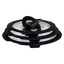 Buy Tefal Ingenio Glass Lid Set, 3 Piece Online at johnlewis.com
