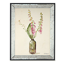 Buy Adelene Fletcher - Foxgloves Framed Print, 45 x 35cm Online at johnlewis.com