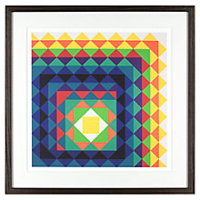 Buy Tate, Herbert Bayer - Chromatic Triangulation II Framed Print, 40 x 40cm Online at johnlewis.com