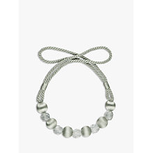 Buy John Lewis Beaded Rope Tieback Online at johnlewis.com