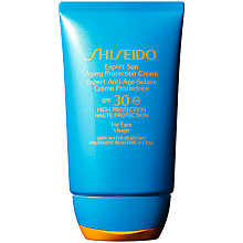 Buy Shiseido Expert Sun Aging Protecion Face Cream, 100ml, SPF 30 Online at johnlewis.com