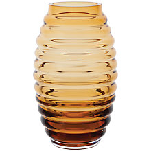 Buy Dartington Crystal Little Gems Beehive Barrel Vase Online at johnlewis.com