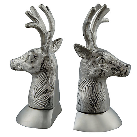 Buy Culinary Concepts Stag Head Bookends Online at johnlewis.com