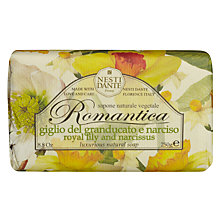 Buy Nesti Dante Romantica Royal Lily and Narcissus Soap, 250g Online at johnlewis.com