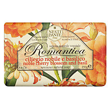 Buy Nesti Dante Romantica Noble Cherry Blossom and Basil Soap, 250g Online at johnlewis.com