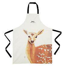 Buy Wild Animals Deer Apron Online at johnlewis.com