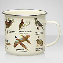 Buy Wild Animals Enamel Mug Online at johnlewis.com