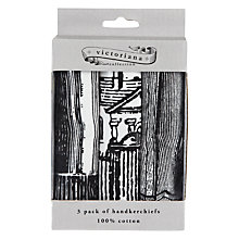Buy Victoriana Handkerchief, Set of 3 Online at johnlewis.com