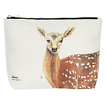 Buy Wild Animals Deer Makeup Bag Online at johnlewis.com