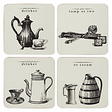 Buy Victoriana Coasters, Set of 4 Online at johnlewis.com