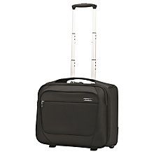 "Buy Samsonite B-lite 2 17"" Laptop 2-Wheel Briefcase, Black Online at johnlewis.com"