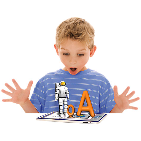 Buy Cypher Kids Letters 3D Interactive Learning Cards Online at johnlewis.com