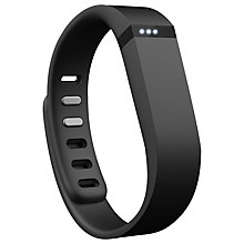 Buy Fitbit Flex Wireless Activity and Sleep Tracking Wristband, Black + FREE Accessory Pack Online at johnlewis.com