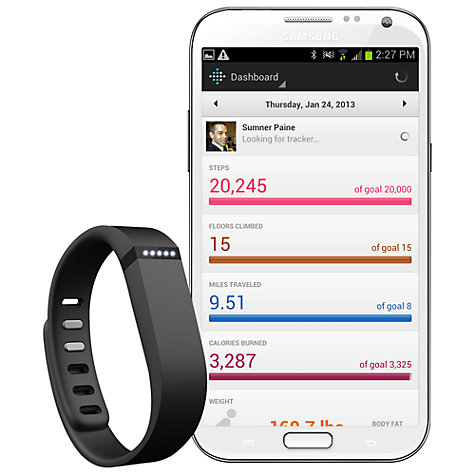 Buy Fitbit Flex Wireless Activity and Sleep Tracking Wristband Online at johnlewis.com
