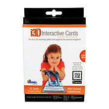 Buy Cypher Kids Wild Animal Adventures 3D Interactive Learning Cards Online at johnlewis.com