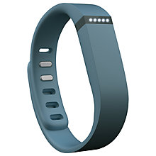 "Buy ""Fitbit Flex Wireless Activity and Sleep Tracking Wristband, Slate  + FREE Accessory Pack"" Online at johnlewis.com"